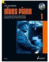 Blues piano Volume 1 (Méthode de blues en francais) --- Piano