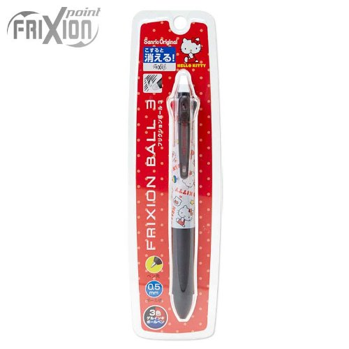 Hello Kitty Pilot FRIXION BALL 3 Gel Ink 3 Color Multi Pen 0.5mm