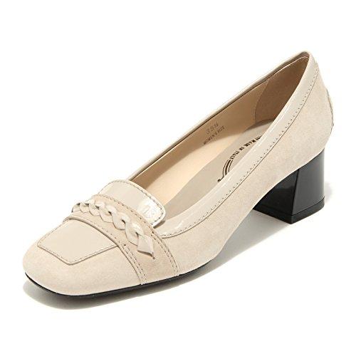 25456 decollete beige TOD' S scarpa donna shoes women [39]