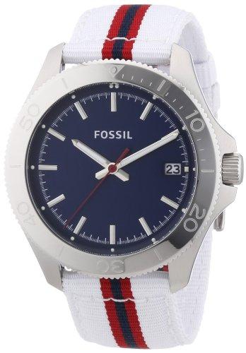 Fossil Men's Watch XL Analogue Quartz Textile AM4480