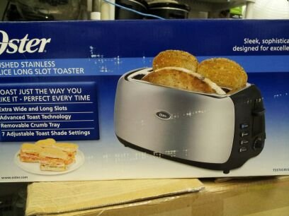 где купить Oster 4-Slice Long Slot Toaster дешево