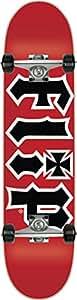 Flip Team HKD Red Regular Complete Skateboard - 7.5x31.25