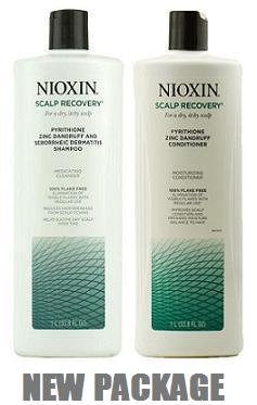 Nioxin: Scalp Recovery Medicating Cleanser + Conditioner Combo, 33.8 oz (Nioxin Dandruff Conditioner compare prices)