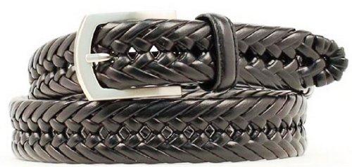 Nocona Hired Hand Braided Mens Belt