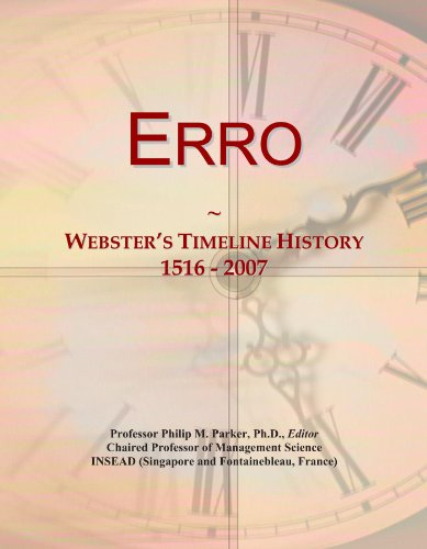 Erro: Webster