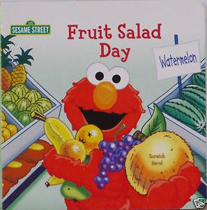 Sesame Street Scratch 'N Sniff Board Books (Complete Set Of 3) A Sweet-Smelling Garden, Big Bird'S Sweet Smoothies, And Fruit Salad Day front-987513