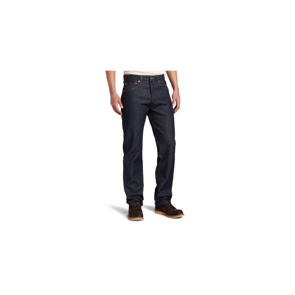 Levis   ® 501 ® Strauss Button Fly Original Jeans Shrink to Fit