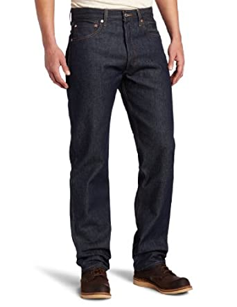 Levi's Men's 501 Shrink To Fit Jean, Rigid STF, 33x36