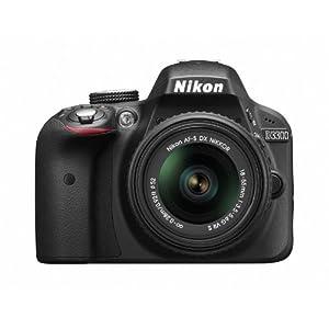 Nikon デジタル一眼レフカメラ d3300BK LK レンズキット ブラック