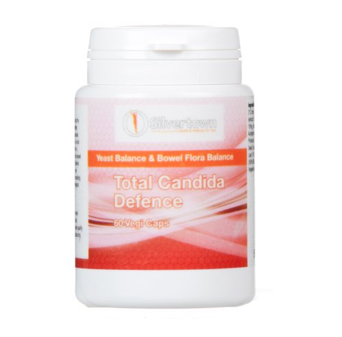 Total Candida Defence - 100% Natural Candida / Yeast Treatment - (60 Vegi Caps)... front-988641