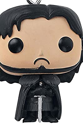 Game Of Thrones Jon Snow Keyring