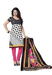 Balaji Women's Cotton Unstitched Dress Material_5123_Multicolored_Freesize