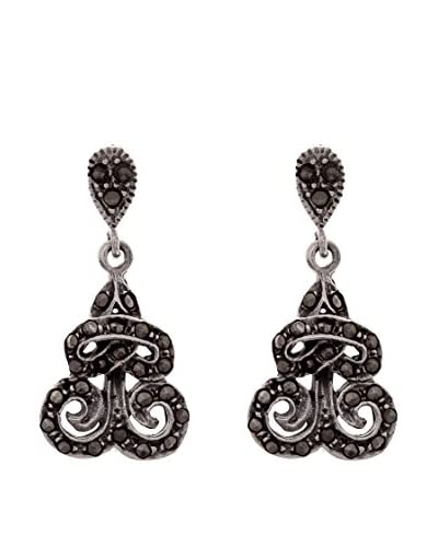 Silver One Pendientes Ideal Marquesita