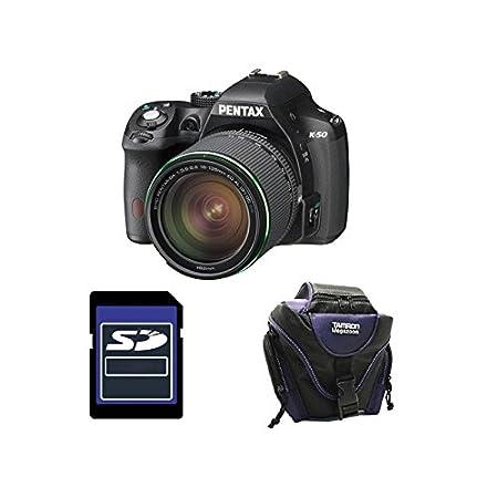 PENTAX K50 Noir + 18-135 WR GARANTI 3 ans + Sac + Carte SD 4Go