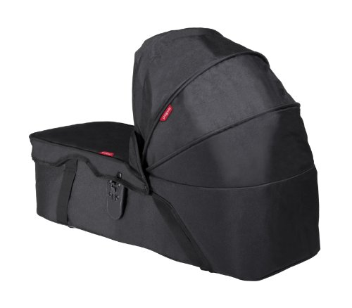 phil&teds Snug Carrycot for Dot and Navigator Strollers, Black - 1