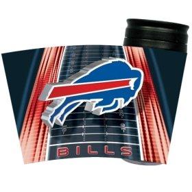 Nfl Buffalo Bills 16-Ounce Slimline Tumbler With Black Lid