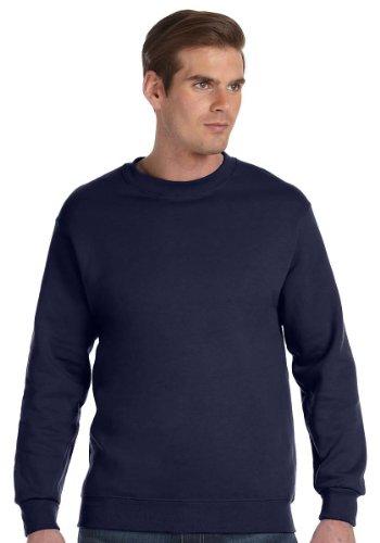 Gildan DryBlend 9.3 oz., 50/50 Fleece Crew, XL, NAVY