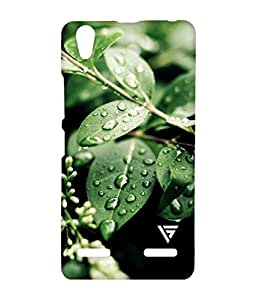 Vogueshell Plant Drops Printed Symmetry PRO Series Hard Back Case for Lenovo A6000