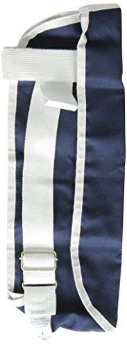 Medline Deep Pocket Arm Slings, Dark Blue, Medium front-20108