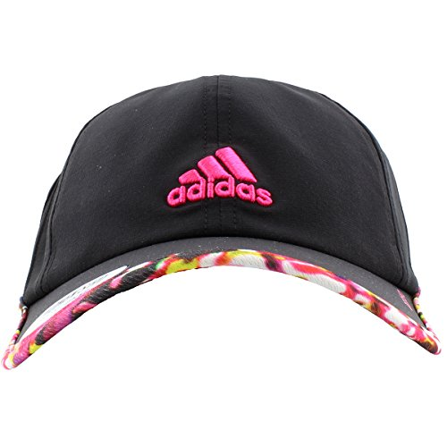 dab6663d272dd8 adidas Women's Adizero II Cap, One Size, Black/Floral Explosion/Shock Pink  | Hat Outlet Sale