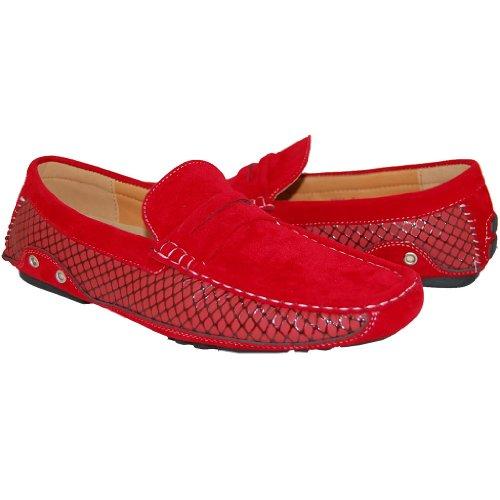Летние мужские замшевые туфли для теплой…