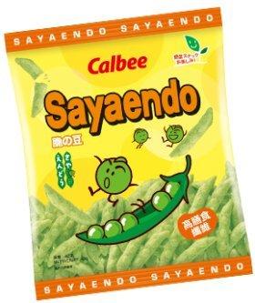 Calbee Sayaendo (Green Pea Snack) 42G X 6 Packs