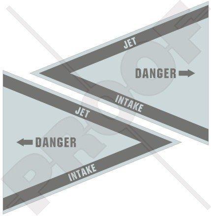 danger-jet-intake-lowvis-nato-raf-usaf-us-navy-aircraft-helicopter-3-75mm-vinyl-stickers-decals-x2