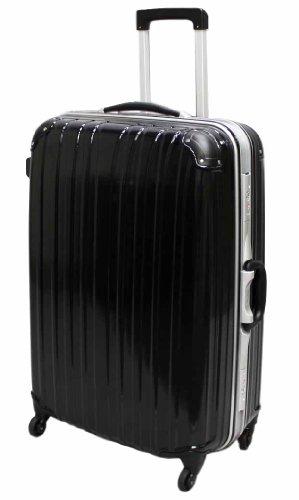 (ビータス) Beatas スーツケース TSAロック 軽量 アルミフレーム ビータス BH-F1000 Lサイズ エンボスブラック(大型 7日8日9日10日11日12日用) 【一年修理保証】【L/E-BK】SUITCASE