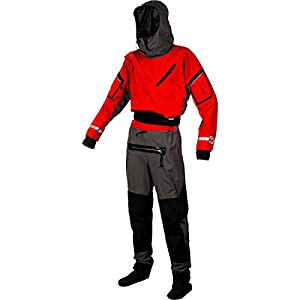 Kokatat Gore-Tex Expedition Dry Suit - Unisex Chili/Gray, S