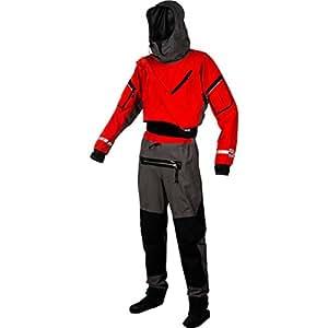 Kokatat Gore-Tex Expedition Dry Suit - Unisex Chili/Gray, S
