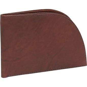 Men's Leather Front-Pocket Wallet (Black) at Amazon Men's