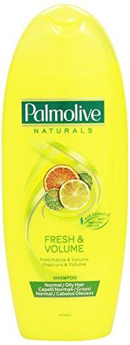 Palmolive Naturals -  Shampoo, Freschezza e Volume, per Capelli Normali e Grassi -  350 ml