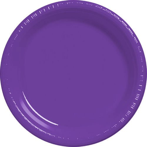 Purple Dessert Plates 20ct