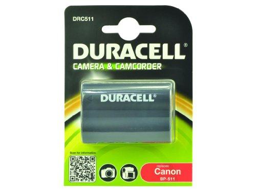Duracell batteria di ricambio per fotocamera digitale Canon BP-511