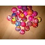 Bouncy Balls - Pack of 20 - Party Bag filler - 27mm bouncy ball