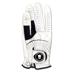 CMC Golf Skull Leather Golf Glove (Medium)