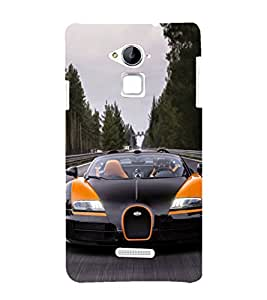 EPICCASE Stylish long Car Mobile Back Case Cover For Coolpad Note 3 Lite (Designer Case)