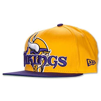 Minnesota Vikings New Era Squared Up Snapback Adjustable Hat Cap by New Era