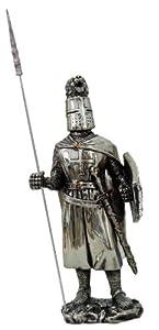 """Crusader Knight 7"""" Statue 8873"""
