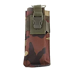 Magideal MOLLE Bag Backpack for Interphone Mobile Phone Case Holder PUrse Pouch