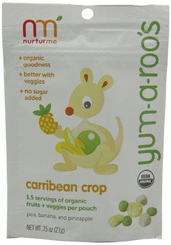 NurturMe Yum-a-Roo's Caribbean Crop Baby Snack