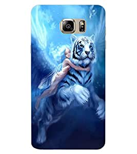 ColourCraft Angel and Friend Design Back Case Cover for SAMSUNG GALAXY NOTE 6