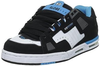 Globe Sabre GBSABR, Unisex - Erwachsene Sportschuhe - Skateboarding, Schwarz (black/white/hawaiian 10686), EU 47 (UK 11) (US 12)