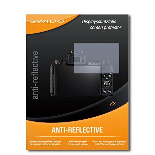 """2 x SWIDO® protecteur d'écran Canon PowerShot G5 X protection d'écran feuille """"AntiReflex"""" antireflets"""