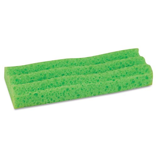 Quickie® – Sponge Mop Head Refill, 9″, Green – Sold As 1 Each – Lysol® antimicrobial agent prohibits the growth of odor causing germs, bacteria, mold and mildew (on the mop fibers) for the life of the product.