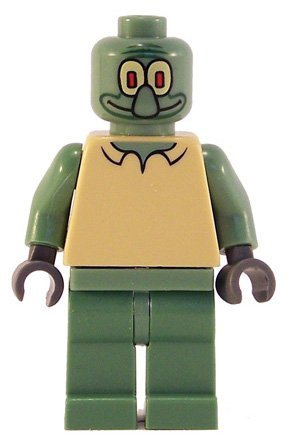 Squidward - LEGO Spongebob Squarepants Figure Amazon.com