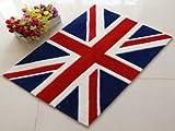 人気急上昇 国旗柄 玄関 マット 50cm x 75cm イギリス国旗(ユニオンジャック)