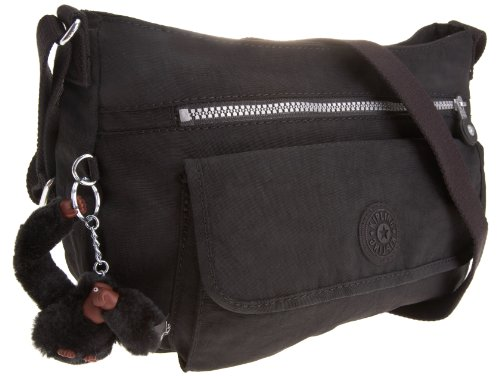 Kipling Women's Syro Across Body Shoulder Bag Black K13163900 Small
