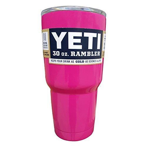 Yeti Rambler Tumbler Pink, 30 oz