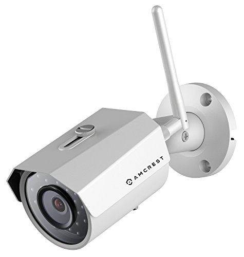 Find Bargain Amcrest ProHD Outdoor 3-Megapixel (2304 x 1296P) WiFi Wireless IP Security Bullet Camer...